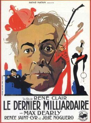 Le dernier milliardaire - French Movie Poster (thumbnail)