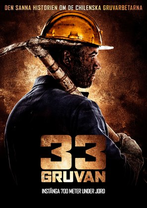 The 33 of San Jose - Swedish Movie Poster (thumbnail)
