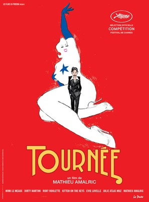 Tournée - French Movie Poster (thumbnail)