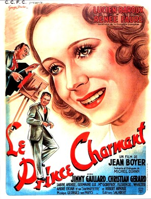 Le prince charmant - French Movie Poster (thumbnail)