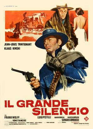 Il grande silenzio - Italian Movie Poster (thumbnail)
