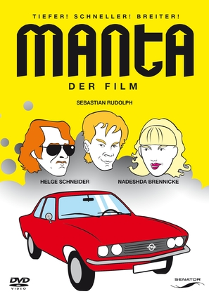 Manta - Der Film - German Movie Cover (thumbnail)