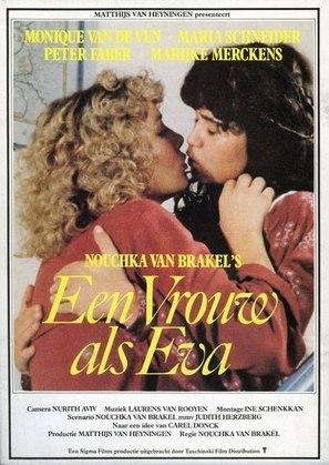 Vrouw als Eva, Een - Dutch Movie Poster (thumbnail)