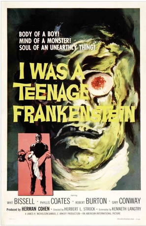 I Was a Teenage Frankenstein - Movie Poster (thumbnail)