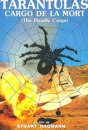 Tarantulas: The Deadly Cargo - French DVD cover (thumbnail)