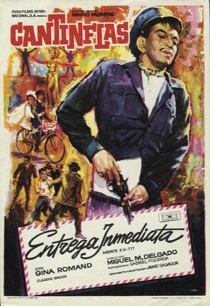 Agente XU 777 - Spanish Movie Poster (thumbnail)