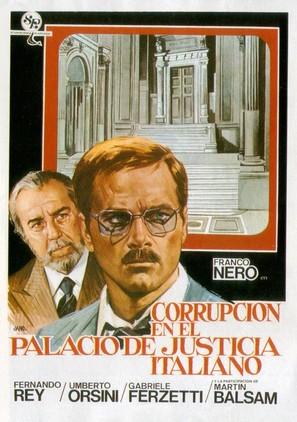Corruzione al palazzo di giustizia - Spanish Movie Poster (thumbnail)