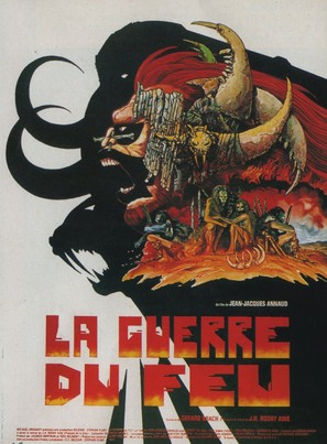 La guerre du feu - French Movie Poster (thumbnail)