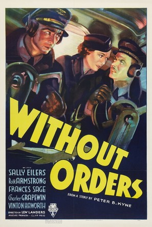Without Orders - Movie Poster (thumbnail)