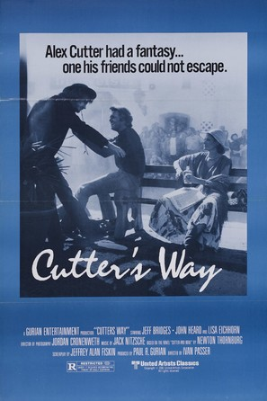 Cutter's Way - Movie Poster (thumbnail)
