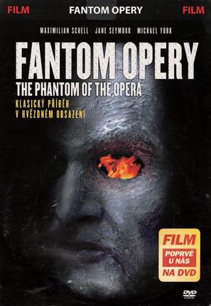 The Phantom of the Opera - Czech DVD movie cover (thumbnail)