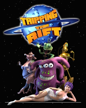 """""""Tripping the Rift"""" - Movie Poster (thumbnail)"""