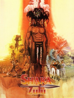 """Shaka Zulu"" - DVD movie cover (thumbnail)"