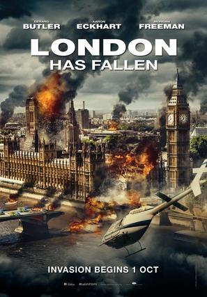 London Has Fallen - Movie Poster (thumbnail)