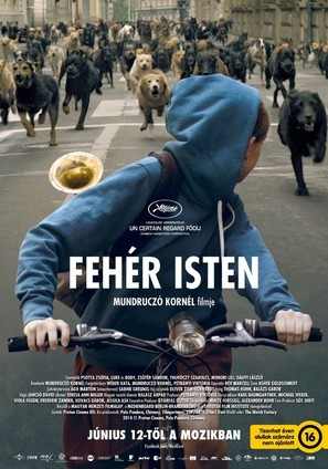 Fehér isten - Hungarian Movie Poster (thumbnail)