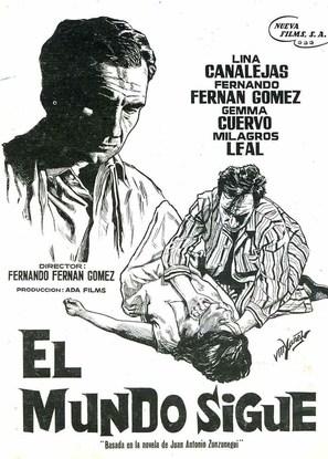 Mundo sigue, El - Spanish Movie Poster (thumbnail)