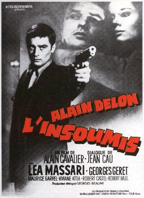 L'insoumis - French Movie Poster (thumbnail)