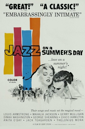 Jazz on a Summer's Day - Movie Poster (thumbnail)