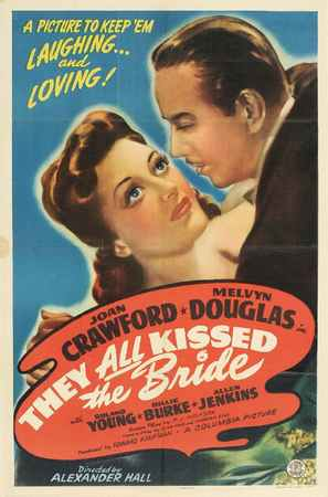 They All Kissed the Bride - Movie Poster (thumbnail)
