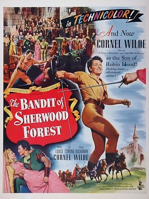 The Bandit of Sherwood Forest - Movie Poster (thumbnail)