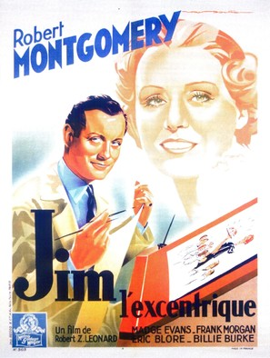 Piccadilly Jim - French Movie Poster (thumbnail)