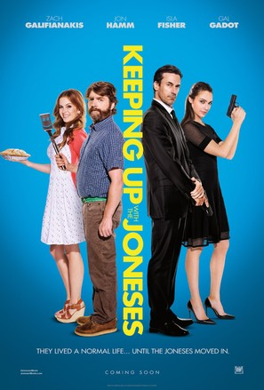 Keeping Up with the Joneses - Movie Poster (thumbnail)