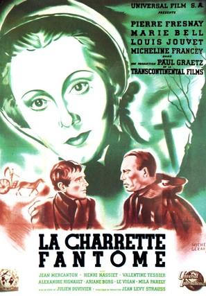 La charrette fantôme - French Movie Poster (thumbnail)