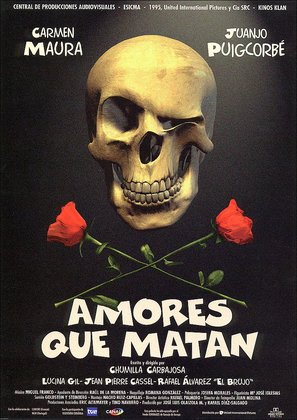 Amores que matan - Spanish Movie Poster (thumbnail)