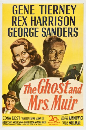 The Ghost and Mrs. Muir - Movie Poster (thumbnail)