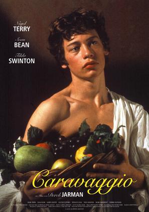 Caravaggio - German Movie Poster (thumbnail)