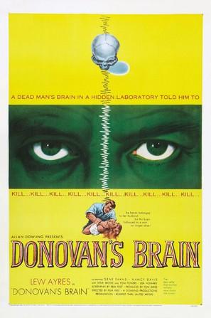 Donovan's Brain - Theatrical movie poster (thumbnail)