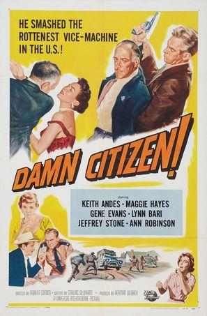 Damn Citizen - Movie Poster (thumbnail)