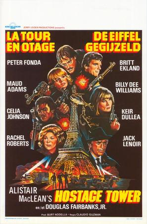 The Hostage Tower - Belgian Movie Poster (thumbnail)