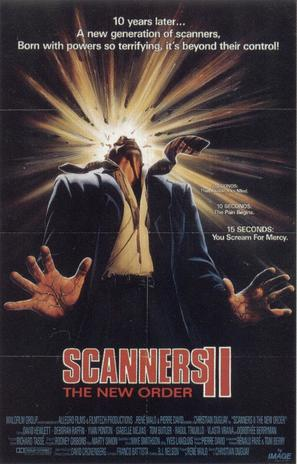 Scanners II: The New Order - Movie Poster (thumbnail)