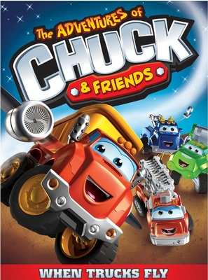 """""""The Adventures of Chuck & Friends"""" - DVD movie cover (thumbnail)"""