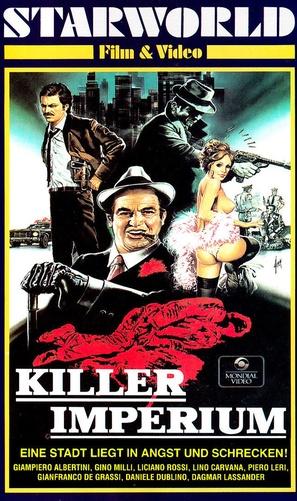 Ritornano quelli della calibro 38 - German VHS movie cover (thumbnail)