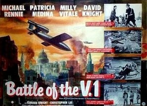 Battle of the V-1 - British Movie Poster (thumbnail)