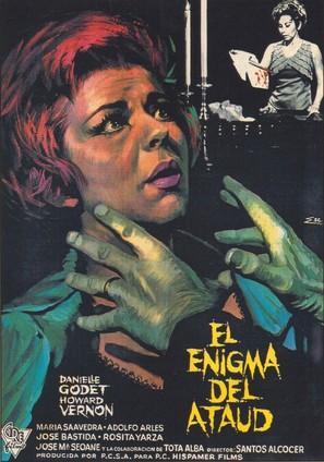 El enigma del ataúd - Spanish Movie Poster (thumbnail)