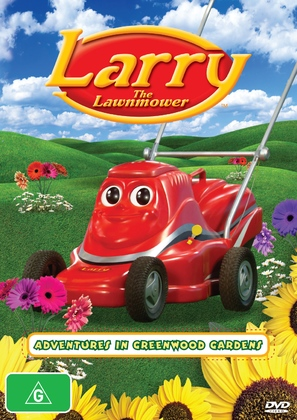 """Larry the Lawnmower"" - Australian DVD cover (thumbnail)"
