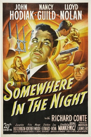 Somewhere in the Night - Movie Poster (thumbnail)