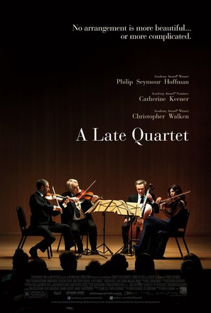 A Late Quartet - Movie Poster (thumbnail)