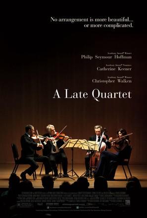 A Late Quartet - Movie Poster (thumbnail)