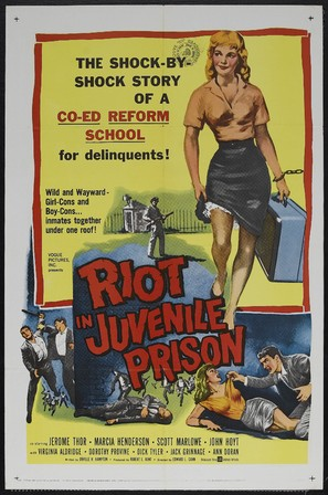 Riot in Juvenile Prison - Movie Poster (thumbnail)