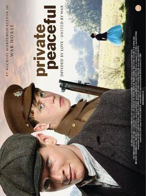 Private Peaceful - British Movie Poster (thumbnail)