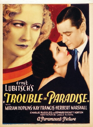 Trouble in Paradise - Movie Poster (thumbnail)
