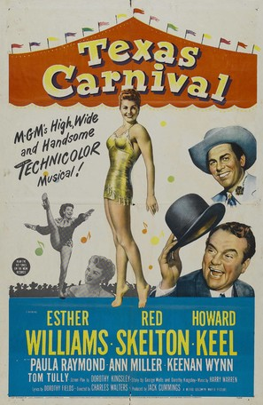Texas Carnival - Movie Poster (thumbnail)