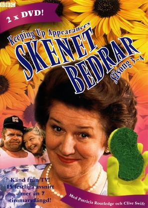 """""""Keeping Up Appearances"""" - Swedish DVD movie cover (thumbnail)"""