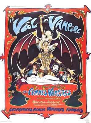 Le viol du vampire - French Movie Poster (thumbnail)
