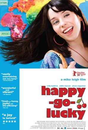 Happy-Go-Lucky - British Movie Poster (thumbnail)