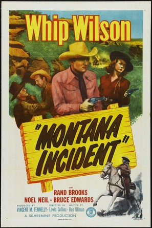 Montana Incident - Movie Poster (thumbnail)